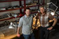 Greg Funston and Philip Currie, University of Alberta paleontologists