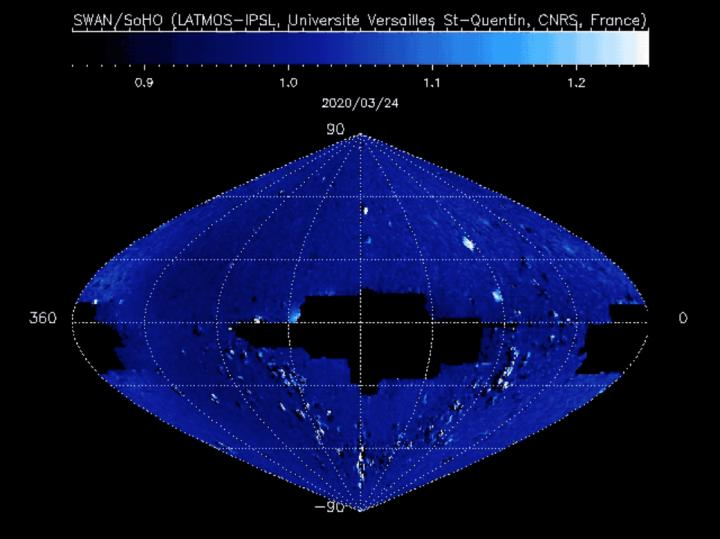 SOHO Observations of Comet SWAN