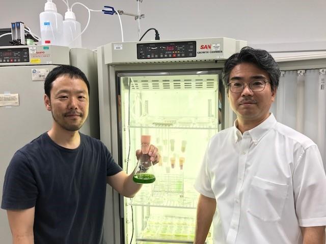 Ryuichi Hirota and Akio Kuroda