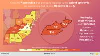 Appalachia Heavily Impacted by Opioid and Hepatitis Epidemics