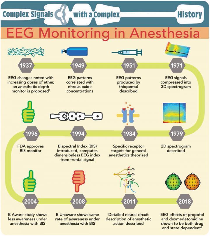 Iinfographic on EEG Monitoring in Anesthesia