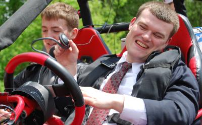 Greg Jannaman, Virginia Tech, and Wesley Majerus, National Federation of the Blind