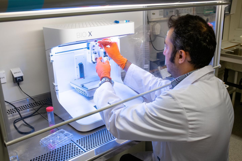 LiU 4D Bioprinting Sajjad Naeimipour