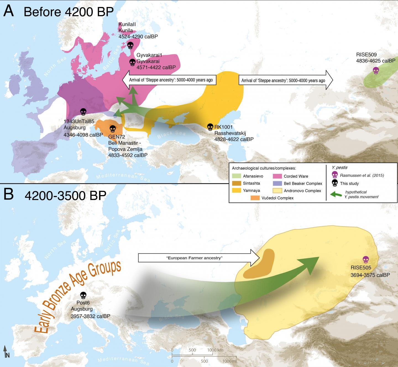 Stone Age Plague Map
