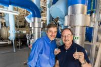 Curtis Mowry and Mike Siegal, Sandia National Laboratories