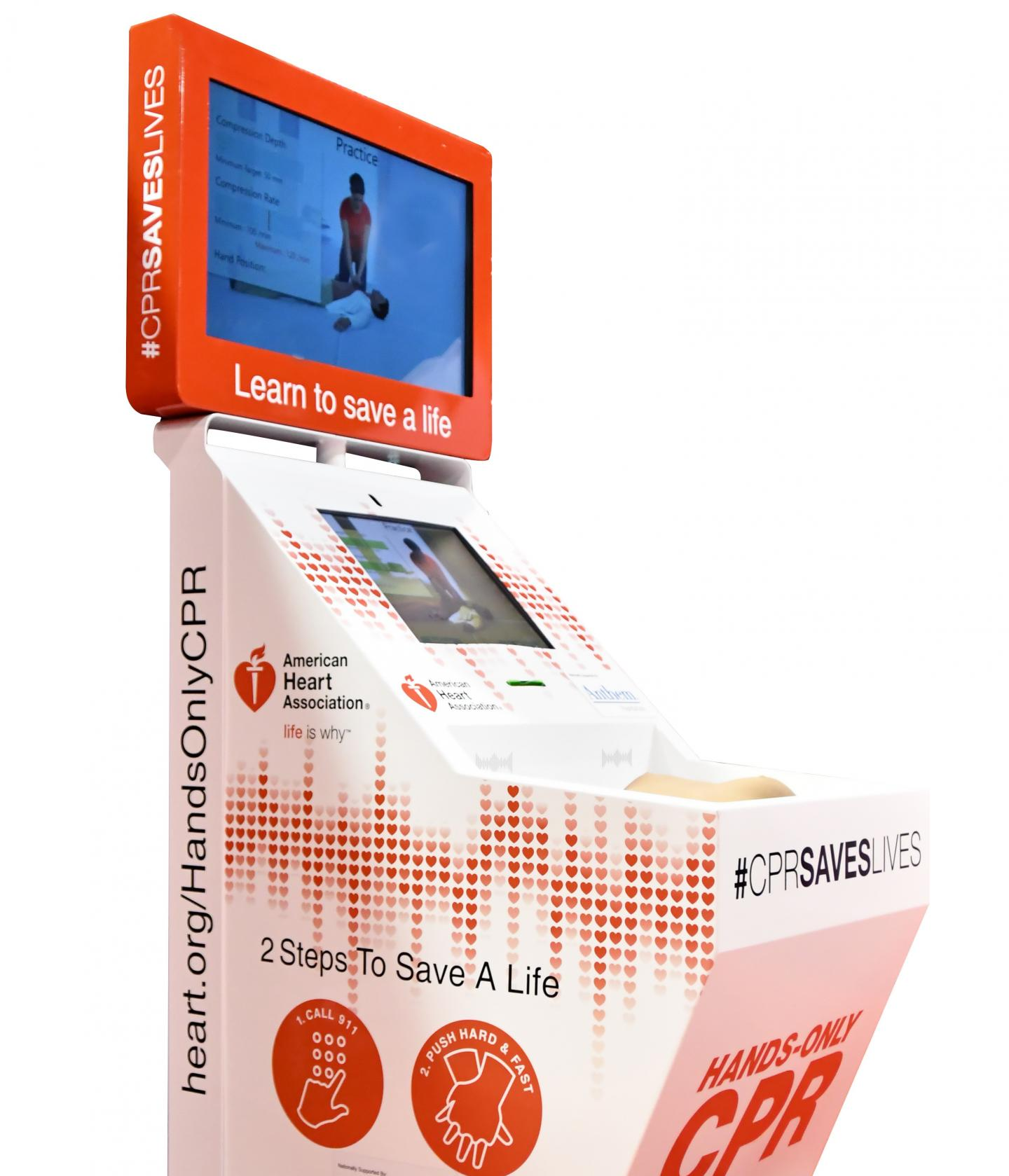 Hands-Only CPR Training Kiosk