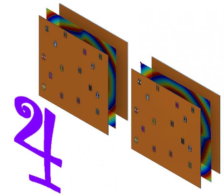 Metamaterial Lidar