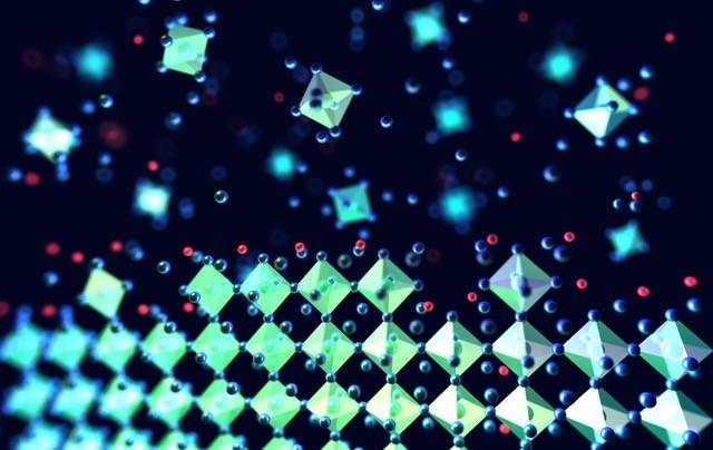 Atomic Scale View of Perovskite Crystal Structure Formation