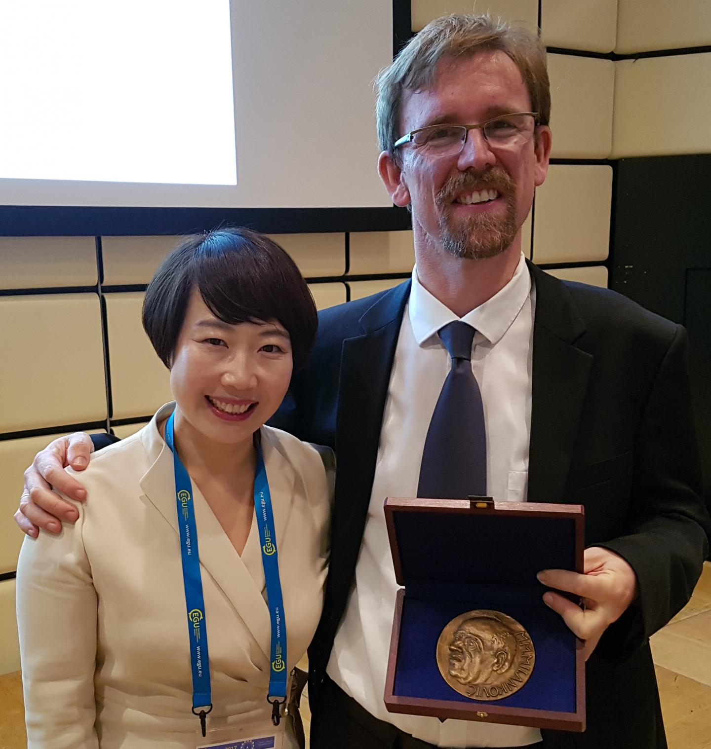 The 2017 Milutin Milankovic Medal is Awarded to ICCP Director Axel Timmermann