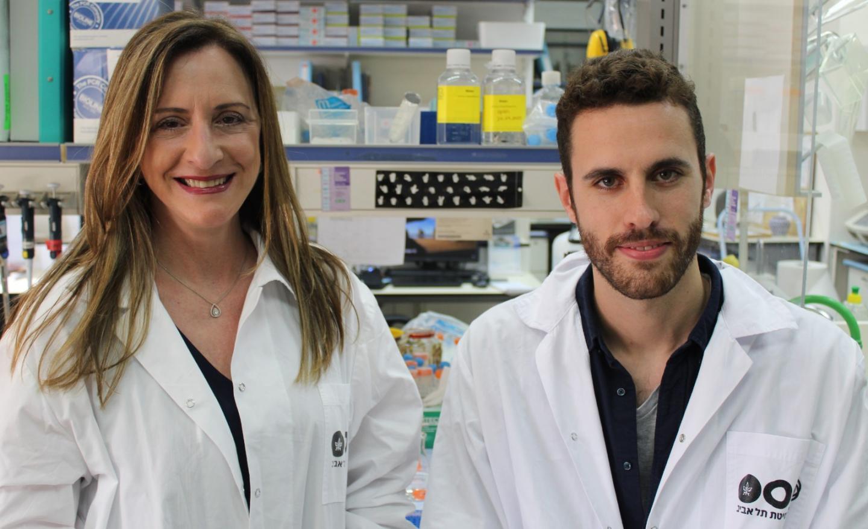 Professor Karen Avraham and Shahar Taiber