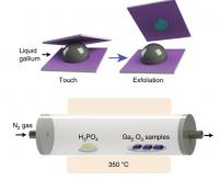Van Der Waals 2D Printing and Chemical Vapour Phase Reaction