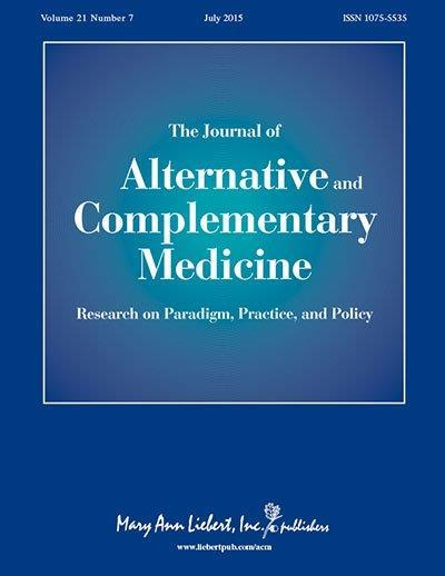 <I>Journal of Alternative and Complementary Medicine</I>