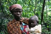 Batwa Mother and Child