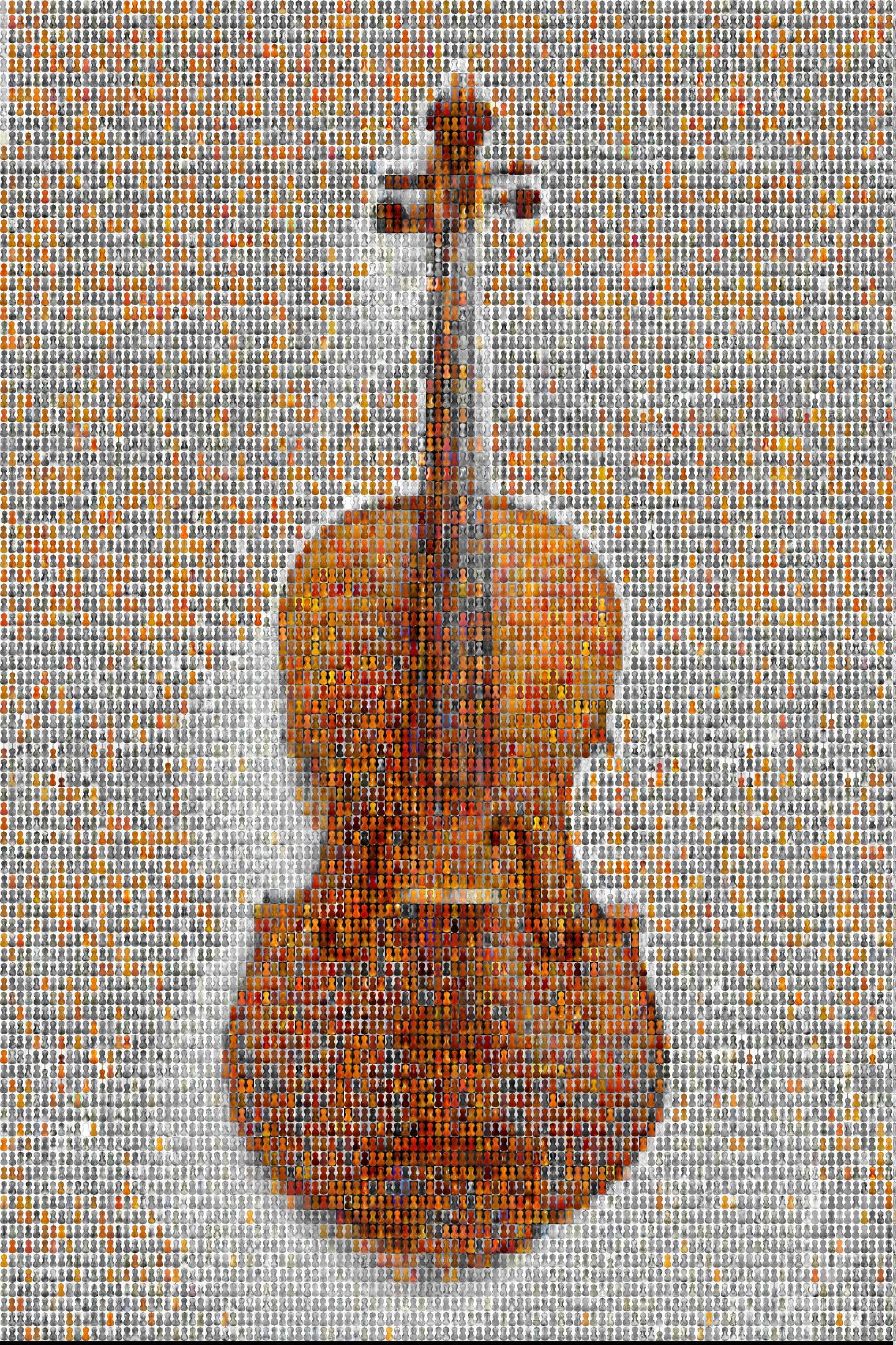 Violin Mosaic