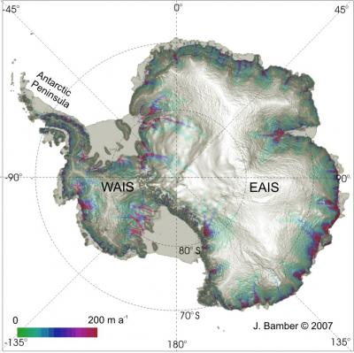 Satelite Image of Ice Loss