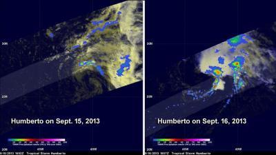 TRMM Images of Humberto