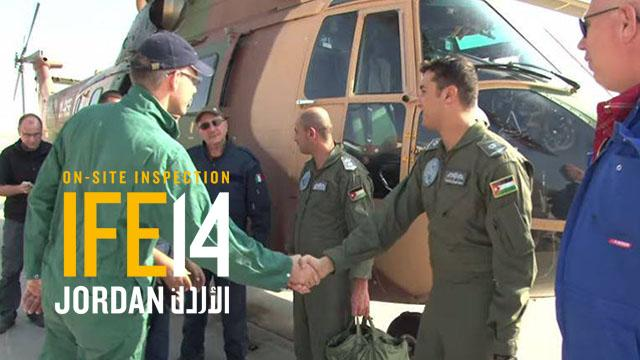 IFE14 Integrated Field Exercise, Jordan