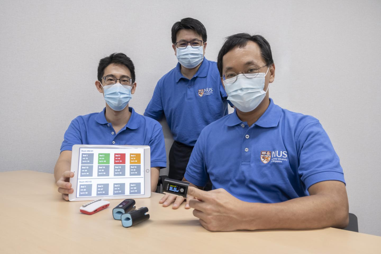 Wireless Pulse Oximeter Demonstration