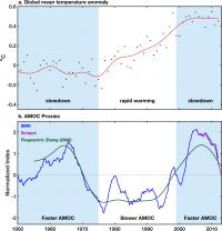 AMOC and Global Temperatures