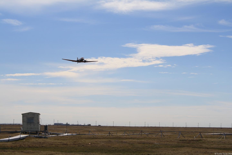 Airborne measuring