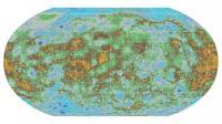 Topo Map of Mercury
