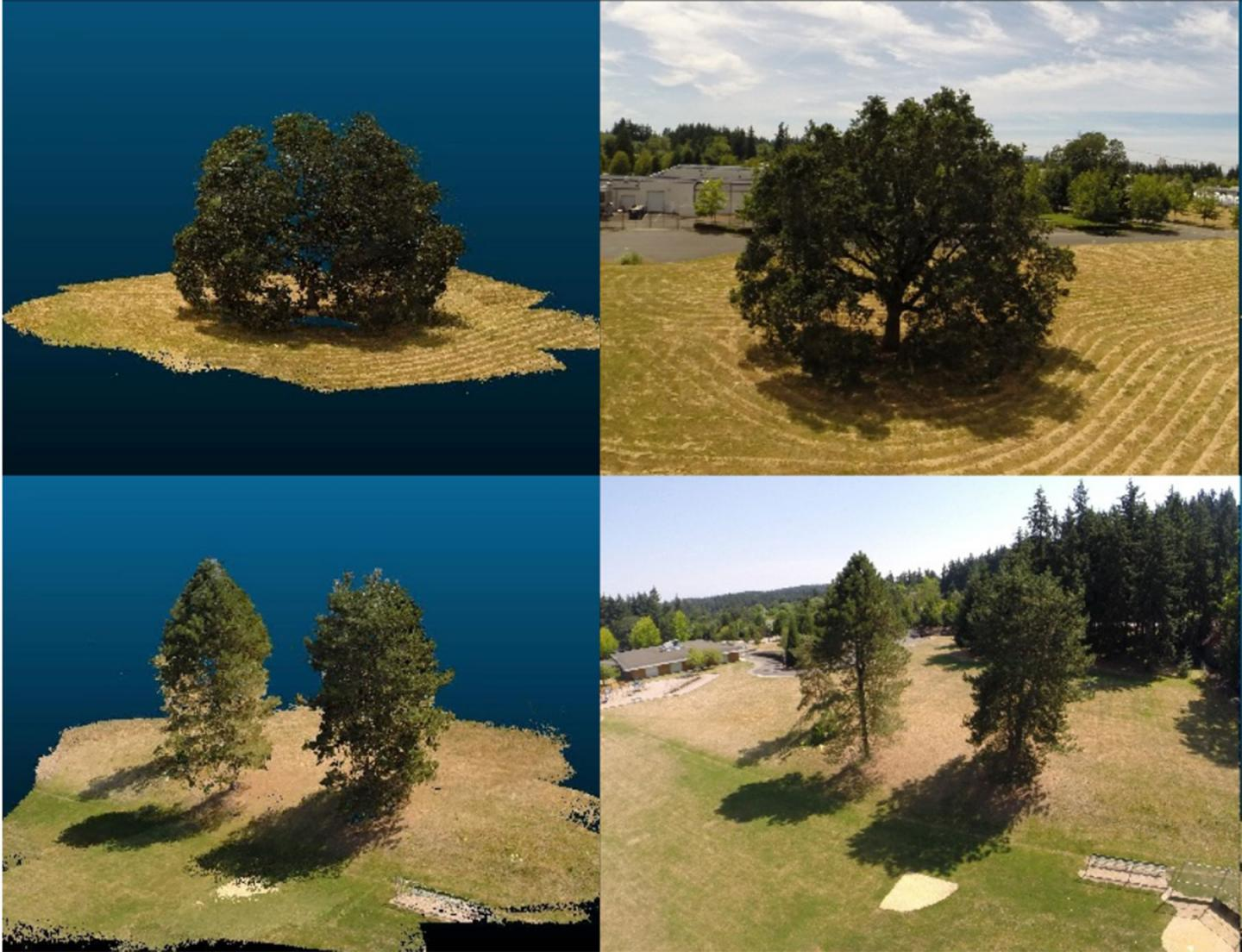 Drone-based Reconstruction