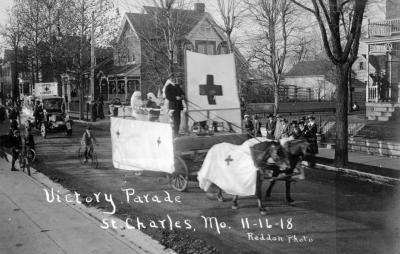 World War I Victory Parade in St. Charles, Missouri