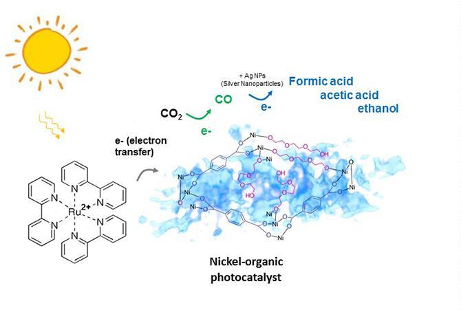 Photocatalyst Schematic