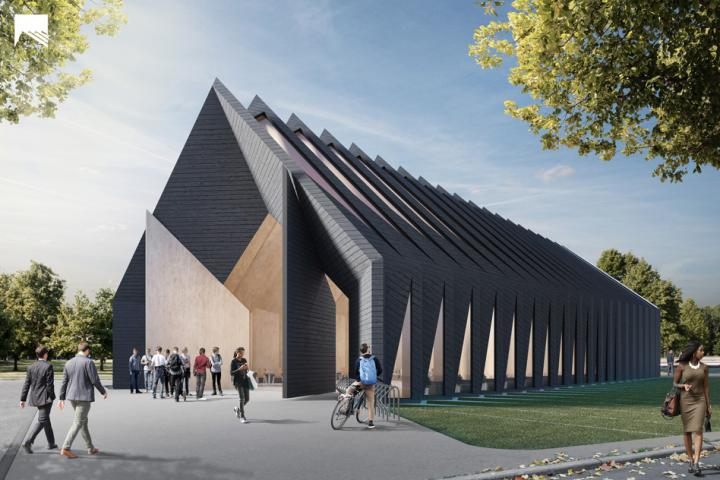 Mass Timber Prototype Designed by MIT Class