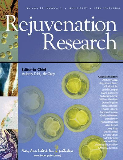 <I>Rejuvenation Research</I>