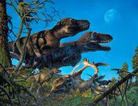 <em>Nanuqsaurus</em> with Young