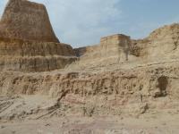 Deep river sediments at Nal Quarry