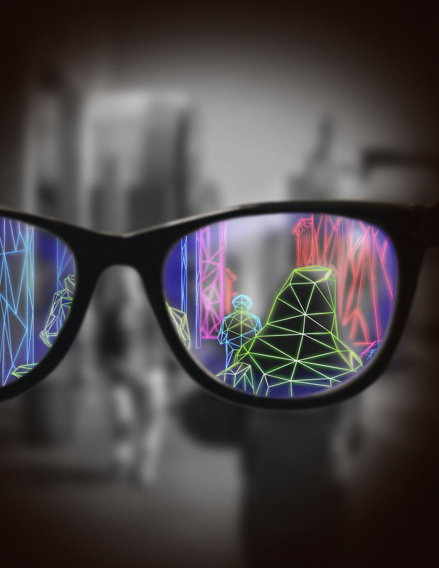 Artistic Rendering of Augmented Reality Glasses