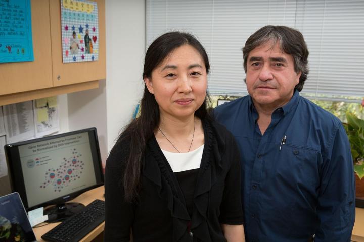Xia Yang and Fernando Gomez-Pinilla, University of California - Los Angeles