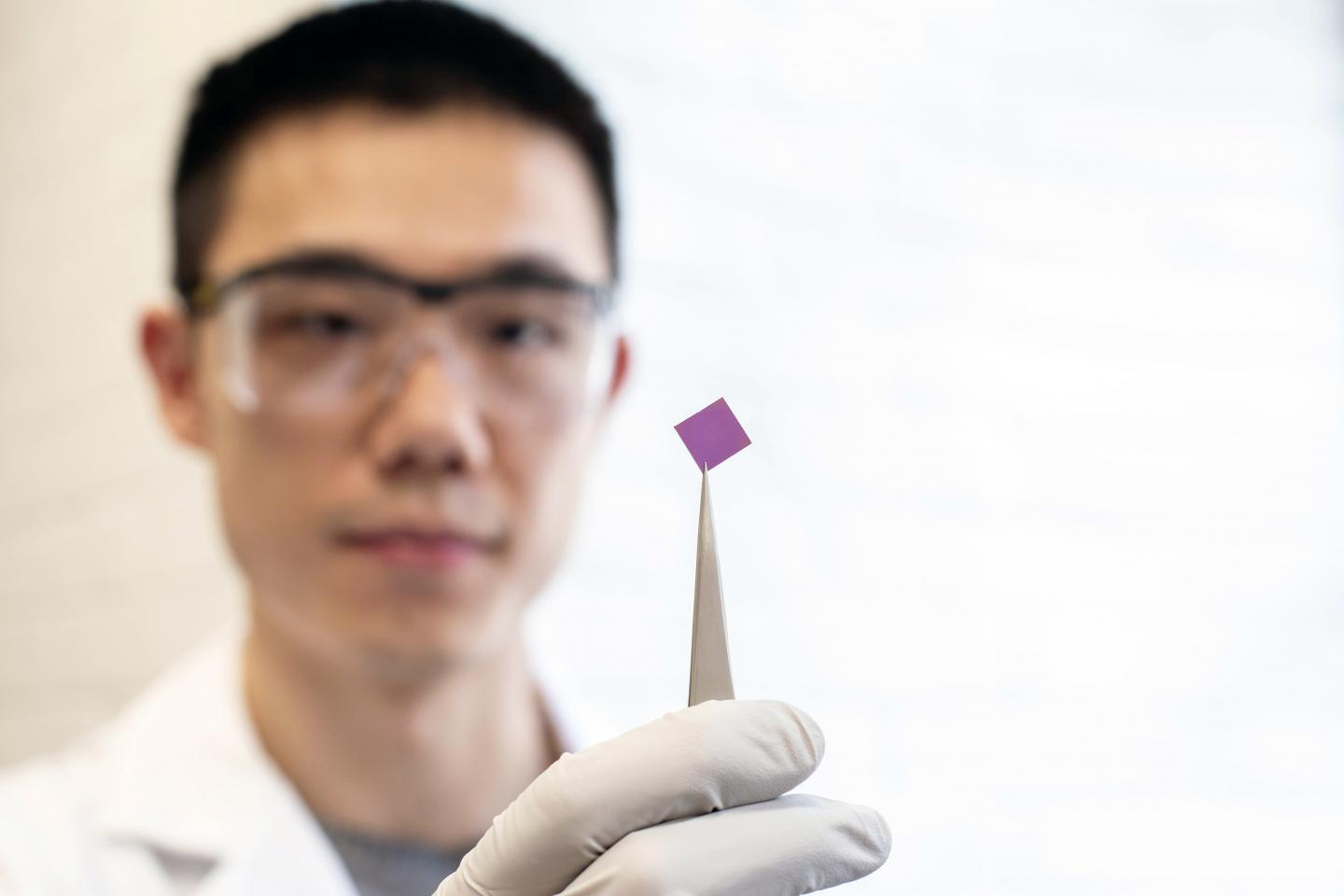 Teng Cui with Graphene