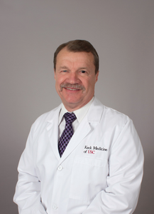 Michael Press, MD, PhD, a pathologist with Keck Medicine of USC, will lead the study's pathological evaluation.