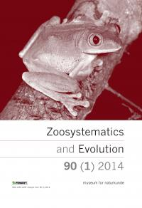 <i>Zoosystematics and Evolution</i>