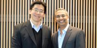 Joe Zhou, PhD, Harvard Medical School; Ramesh Shivdasani, MD, PhD, Dana-Farber Cancer Institute