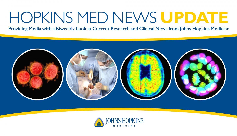 Hopkins Med News Update Logo