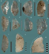 Howiesons Poort Baked Tools of Quartz