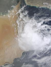 MODIS Image of Ashobaa