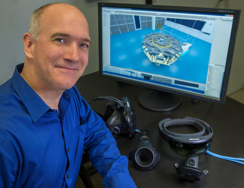 Goddard Technologist Tom Grubb,  NASA/Goddard Space Flight Center