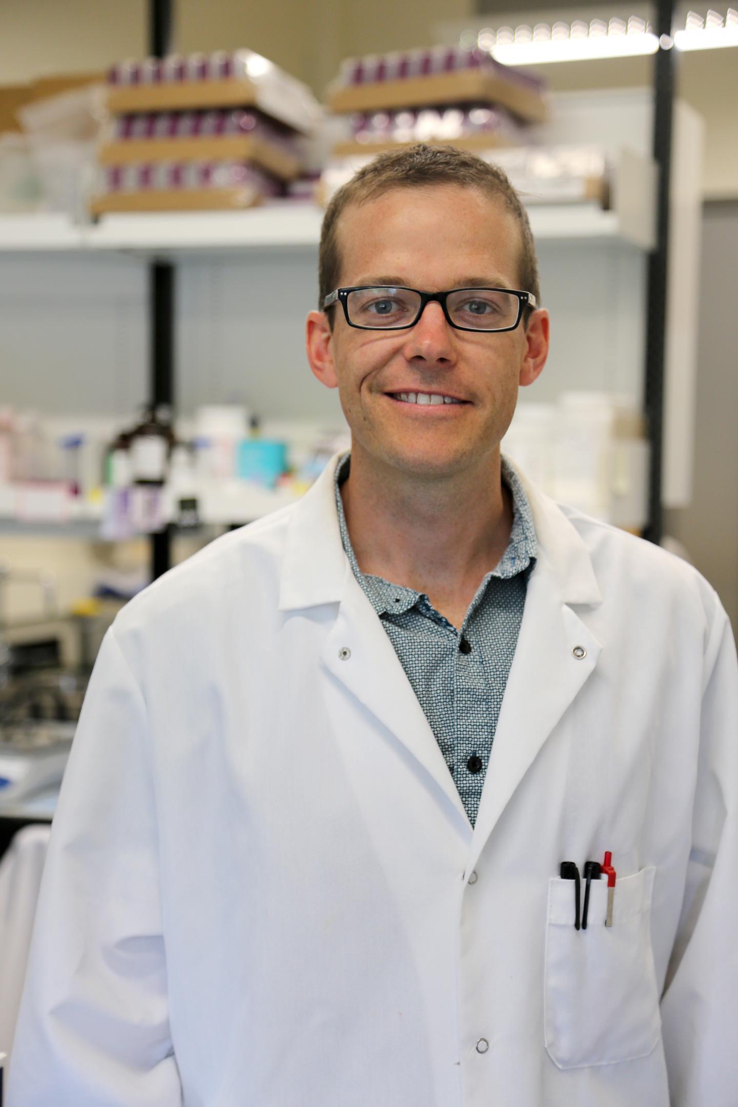 Professor Jonathan Little, University of British Columbia Okanagan campus