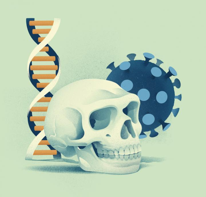 A genetic variant inherited from Neanderthals reduces the risk of severe COVID-19