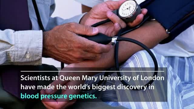 Study of One Million People Leads to World's Biggest Advance in Blood Pressure Genetics