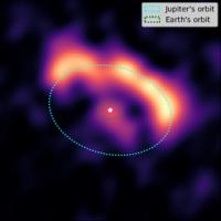 The Protoplanetary Disk around the HD45677 Star