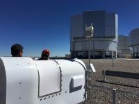 On Site at the Very Large Telescope in Chile