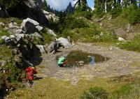 Seasonal High-mountain Pond