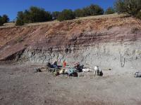 Ghost Ranch Fossil Quarry
