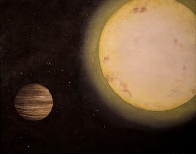 Artist's Rendering of Exoplanet KELT-6b